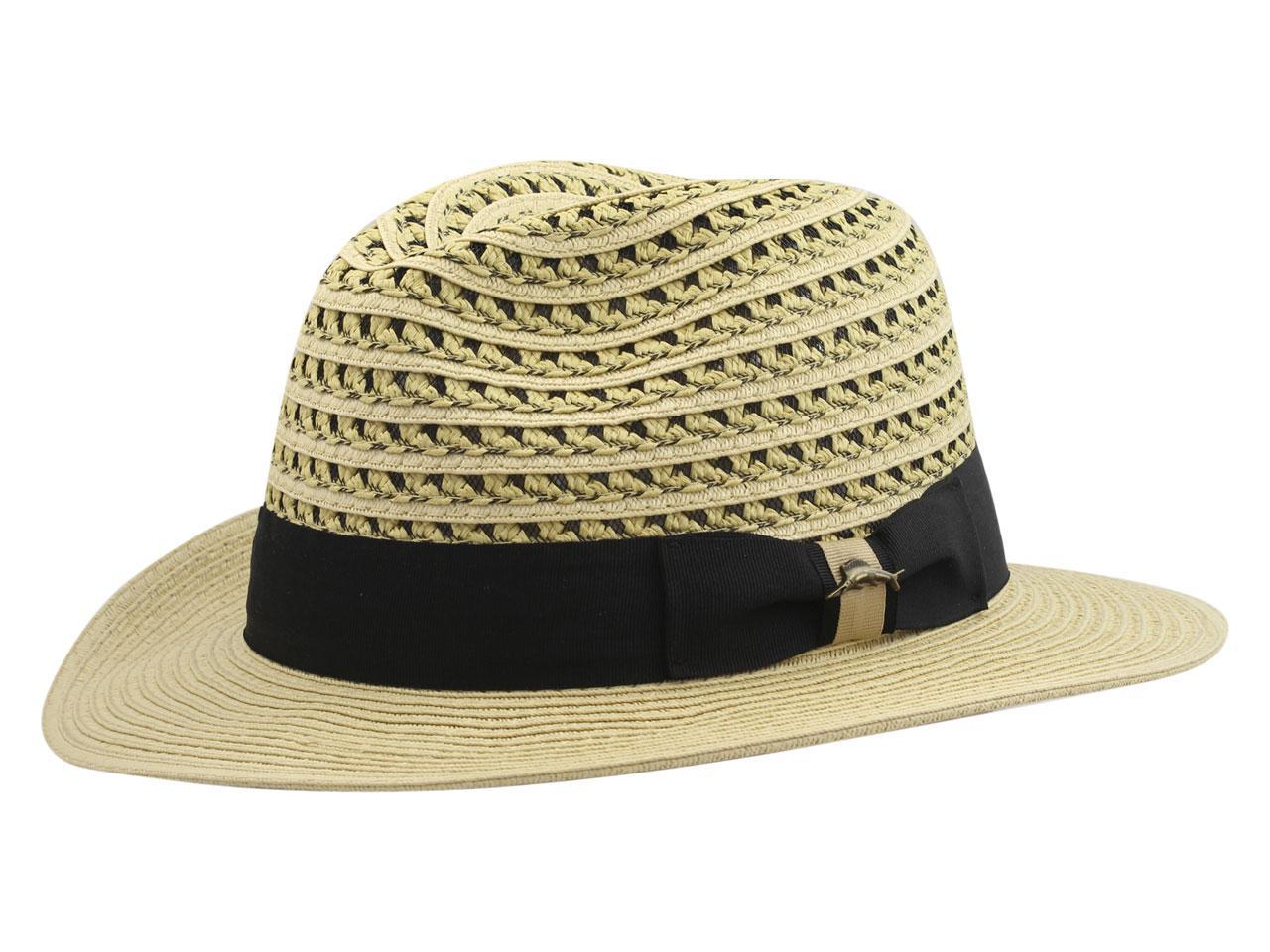 Image of Tommy Bahama Men's Two Tone Safari Hat - Beige - Large/X Large