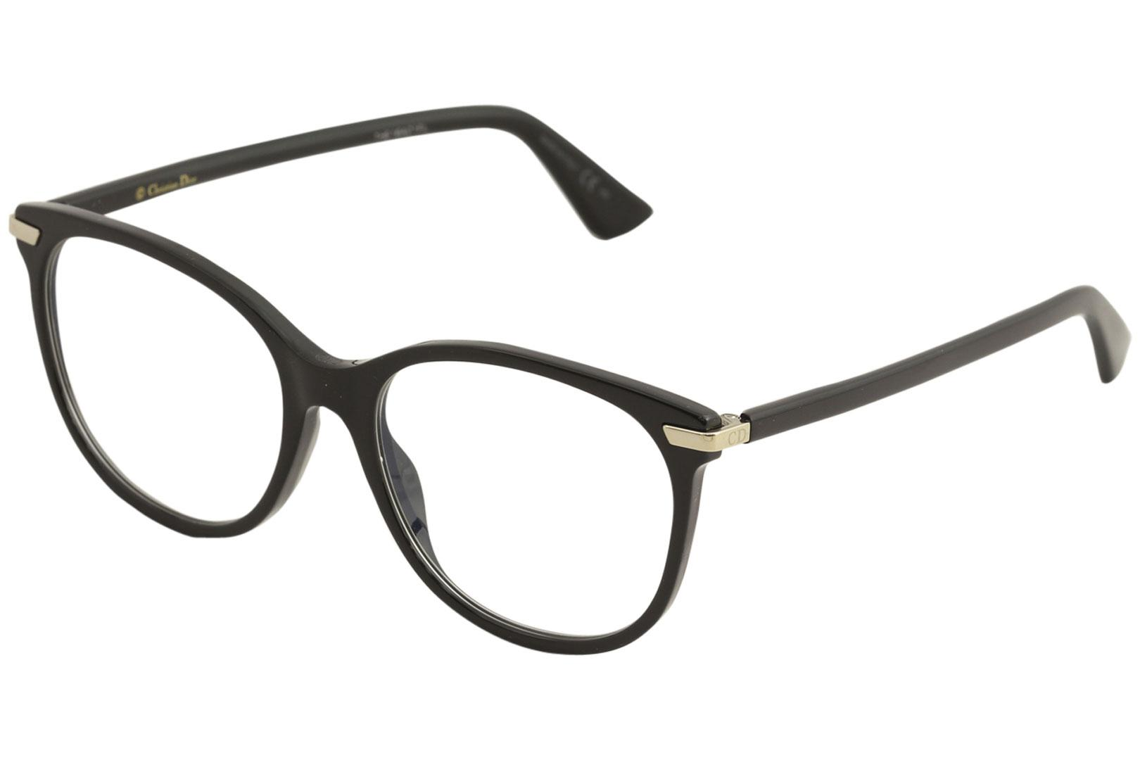 Image of Christian Dior Eyeglasses Women's Dior Essence 11 Full Rim Optical Frame - Black - Lens 53 Bridge 17 Temple 145mm