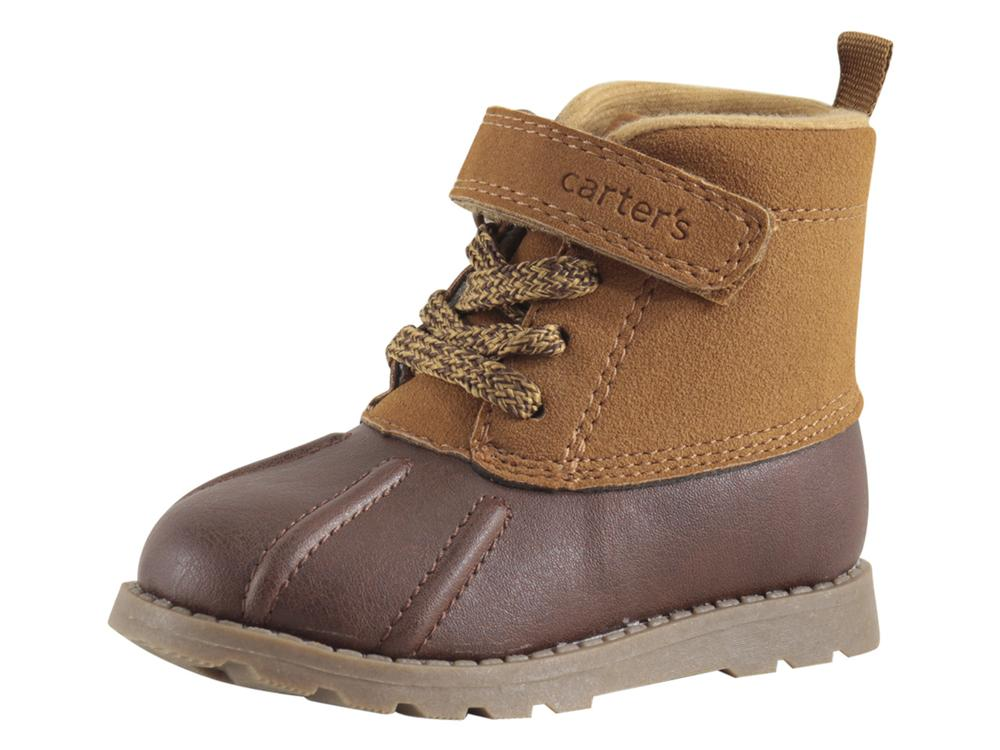 Carter/'s Toddler Boy/'s Baxter2 Brown Boots Shoes