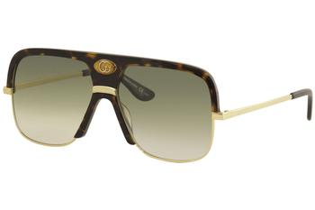 Gucci Men's GG0478S GG/0478/S Fashion Pilot Sunglasses
