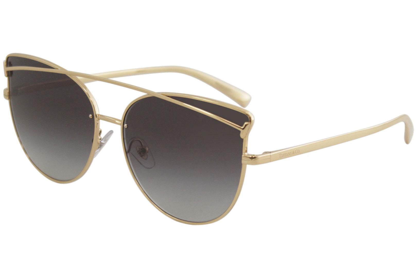 4173de7af4307 Tiffany   Co. Women s TF3064 TF 3064 Fashion Cat Eye Sunglasses