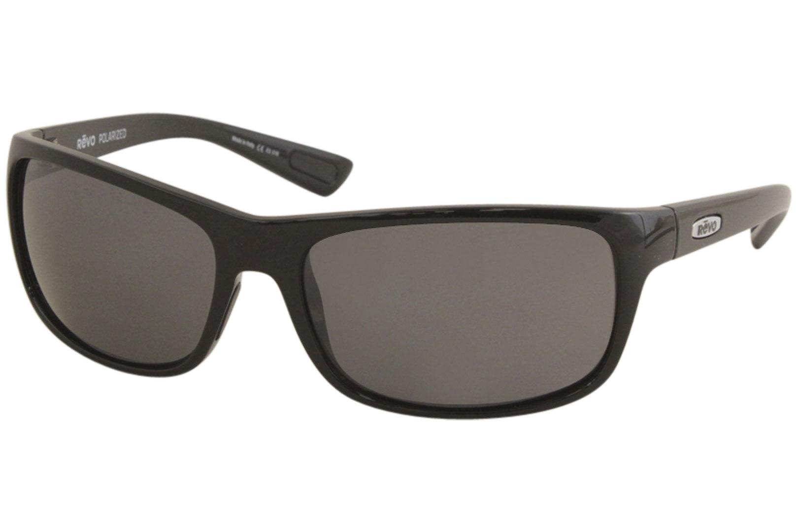 Image of - Black/Polarized Grey Graphite   01 - Lens 62 Bridge 16 Temple 135mm