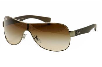 478b128e41 Ray Ban RB3471 RB 3471 029 13 Gunmetal RayBan Shield Sunglasses by Ray Ban