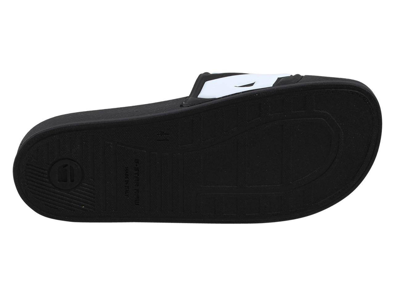 bc0ac4db96bf G-Star Raw Men s Cart-Slide-II Slides Sandals Shoes