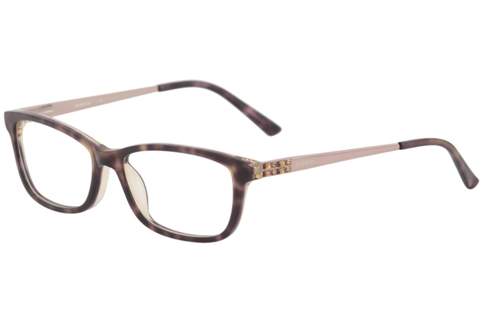 e08511c720 Bebe Women s Love the Nightlife Eyeglasses BB5084 BB 5084 Full Rim ...