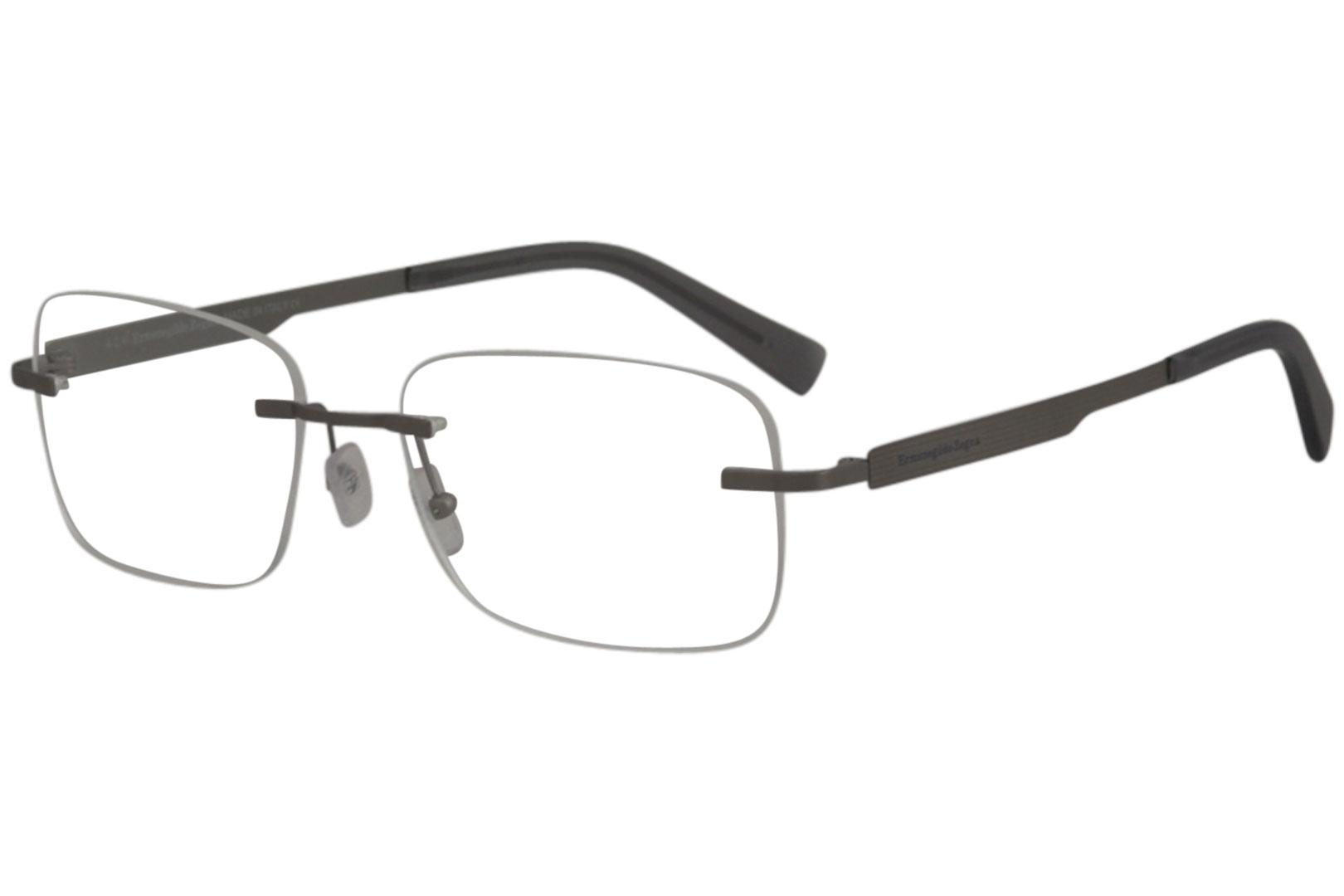 d66fcdf2c4d Ermenegildo Zegna Men s Eyeglasses EZ5026 EZ 5026 Rimless Optical Frame