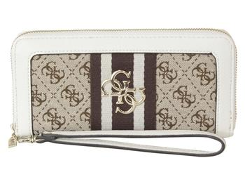 Guess Women's Guess Vintage Large Zip-Around Clutch Wallet