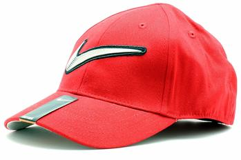 Nike Boy's Embroidered Swoosh Baseball Cap Sz 4/7  UPC: