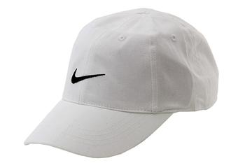 Nike Youth's Embroidered Swoosh Logo Cotton Baseball Cap Sz 4/7 UPC: