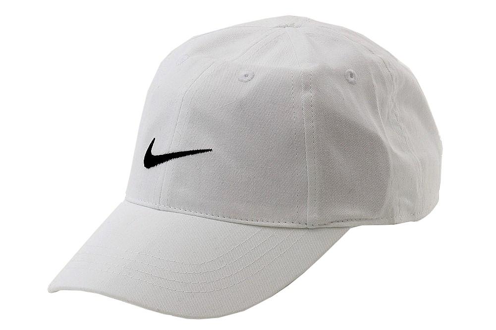 d4d32c98c Nike Youth's Embroidered Swoosh Logo Cotton Baseball Cap Sz 4/7