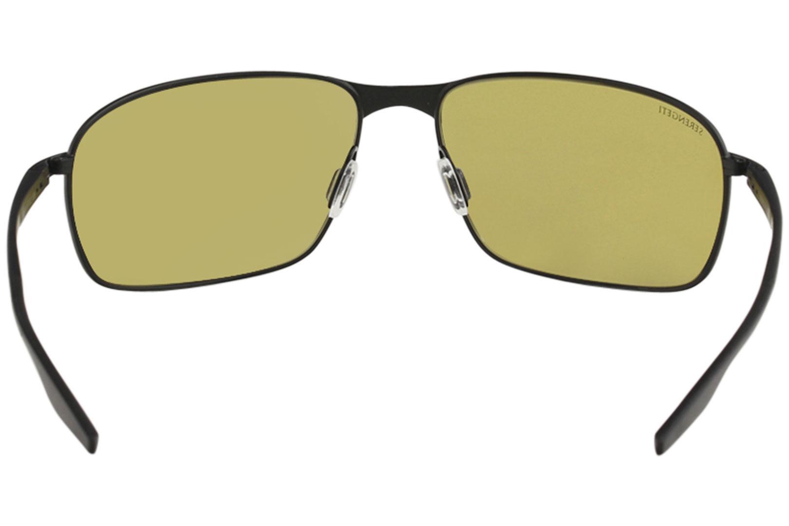 50f9222b4ae1 Serengeti Men s Varese Fashion Rectangle Sunglasses