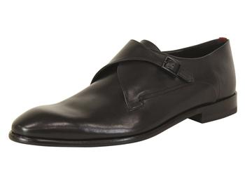 Hugo Boss Men's Appeal Leather Monk Strap Loafers Shoes