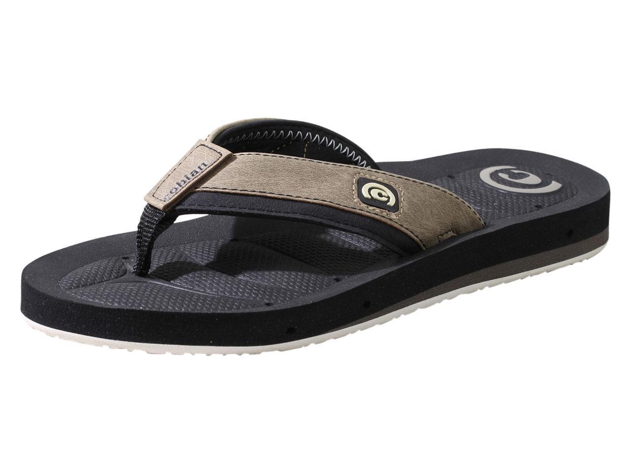 Image of Cobian Men's Draino II Flip Flops Sandals Shoes - Cement - 8 D(M) US