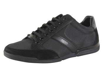 Hugo Boss Men's Saturn Memory Foam Bamboo-Charcoal Sneakers Shoes