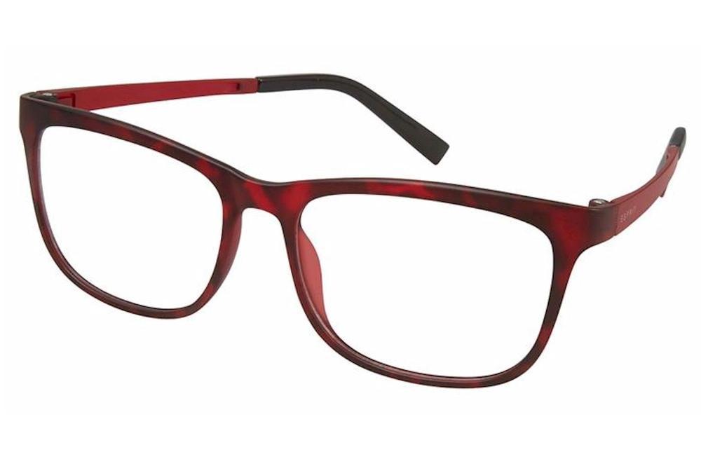 Image of Esprit Women's Eyeglasses ET17531 ET/17531 Full Rim Optical Frame - Red   531 - Lens 52 Bridge 15 Temple 135mm