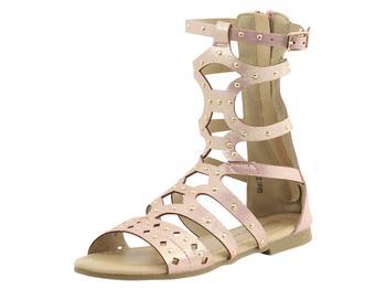 16fb0cfe90b Nanette Lepore Little Big Girl s Studded Gladiator Sandals Shoes