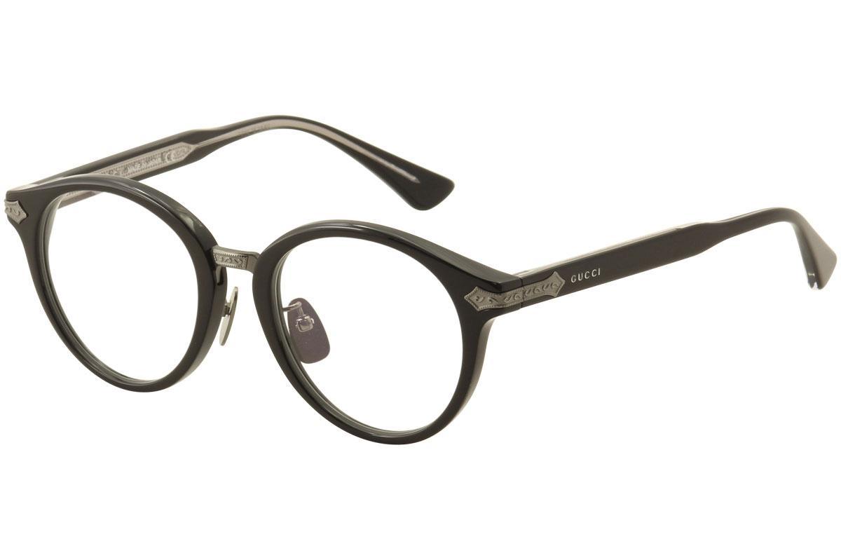 Gucci Men\'s Eyeglasses GG0066O GG/0066O Full Rim Optical Frame