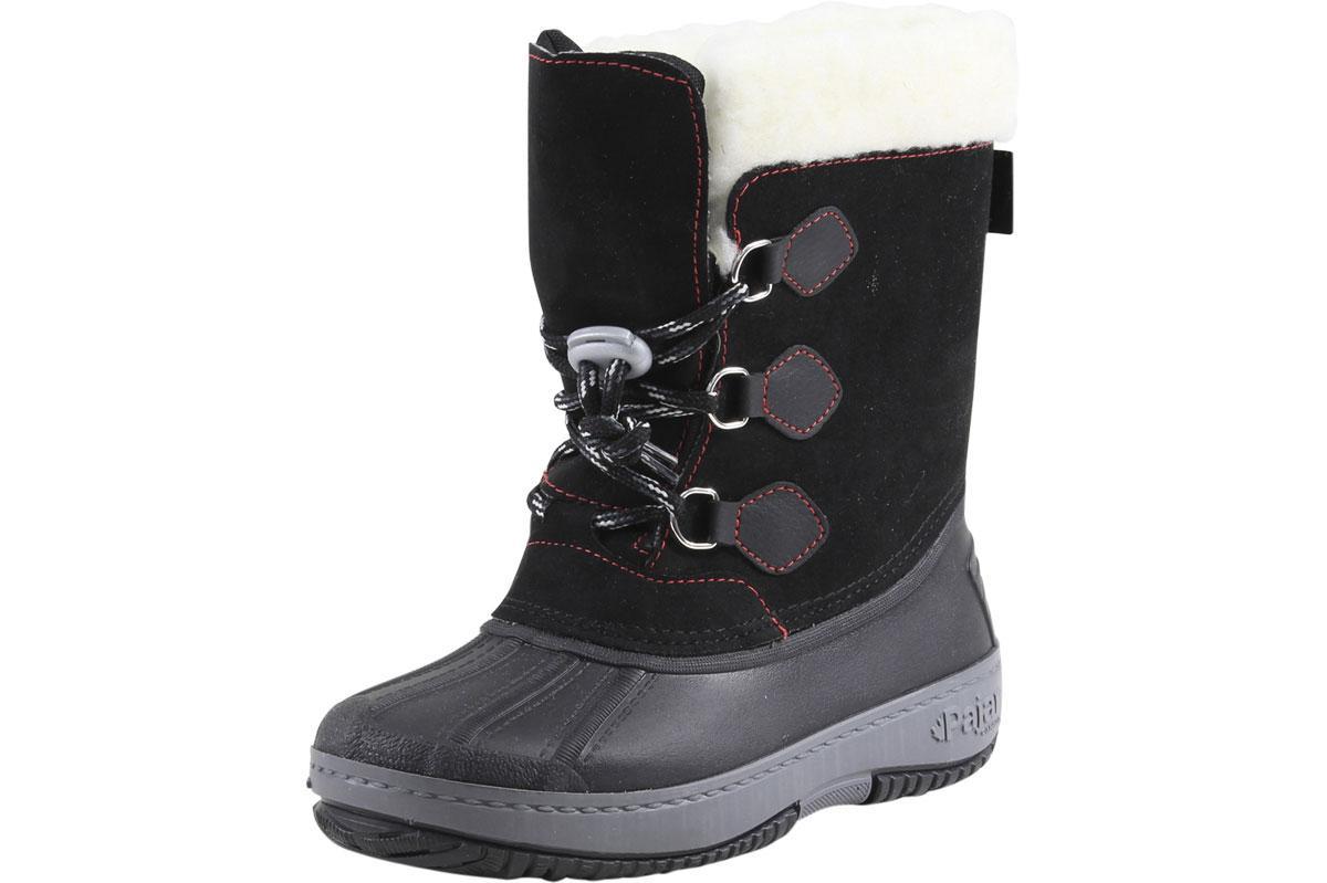 Image of Pajar Little/Big Boy's Marcel Waterproof Winter Boots Shoes - Black - 2 M US Little Kid/33 M EU