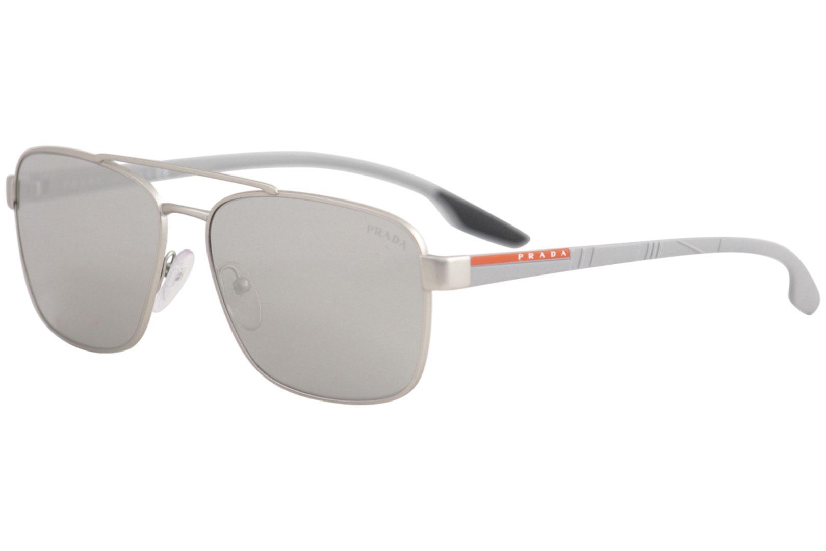 389a2e085794 Prada Men's Linea Rossa SPS51U SPS/51/U Fashion Pilot Sunglasses