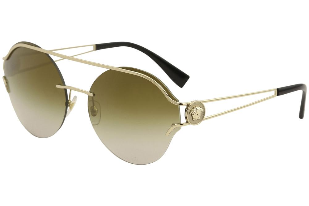 7e4ee67a96 Versace Women s VE2184 VE 2184 Fashion Round Sunglasses