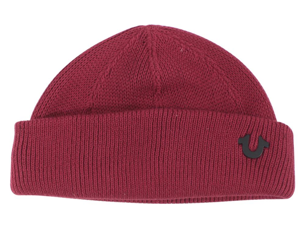 104735e6dac True Religion Men s Indigo Dyed Cotton Watch Cap Beanie Hat by True  Religion. Touch to zoom. 12