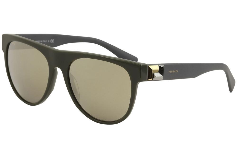f30d6838e507 Versace Men s VE4346 VE 4346 5193 1V Dark Green Fashion Square ...