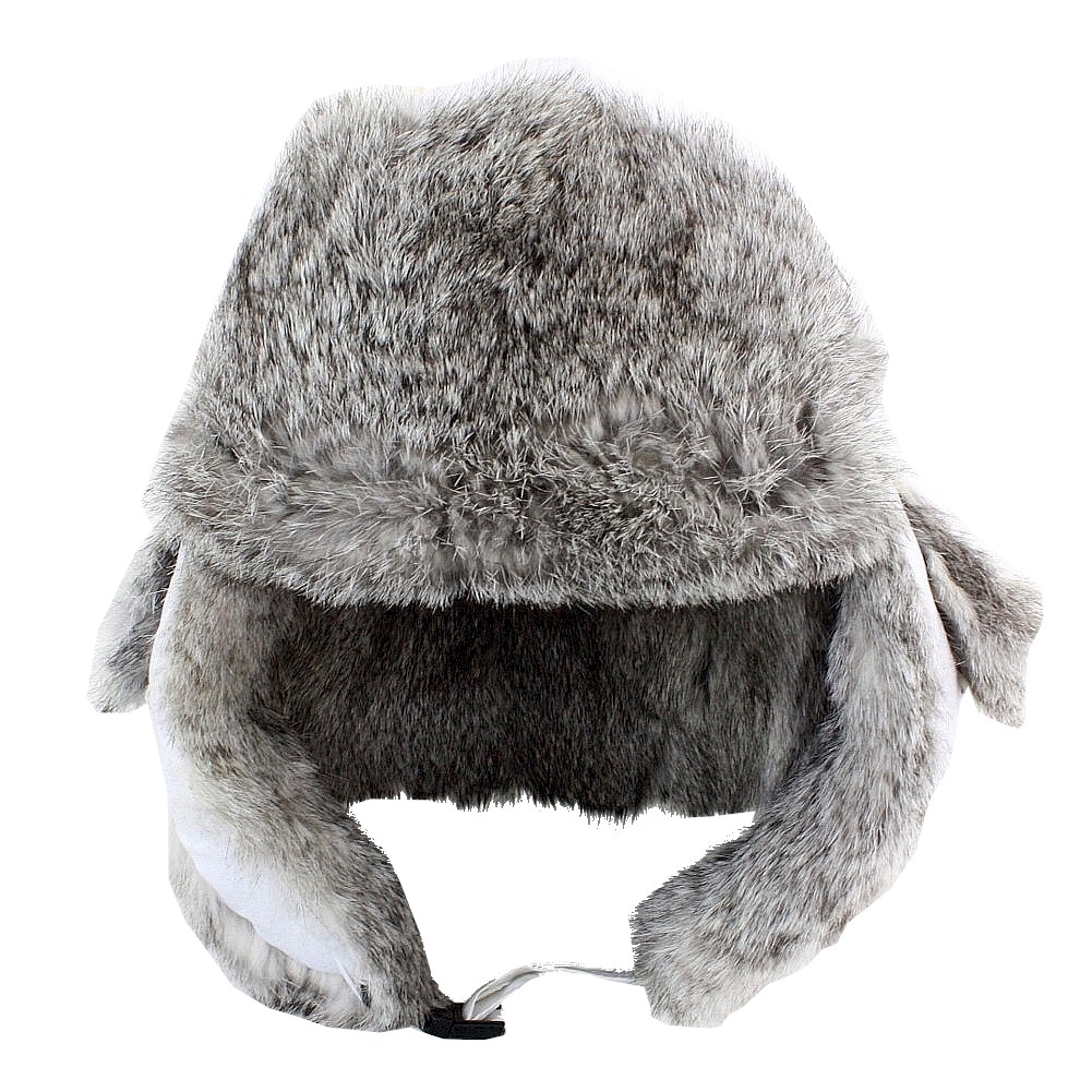 Image of Woolrich Fur Lined White Winter Aviator Hat - White - Small