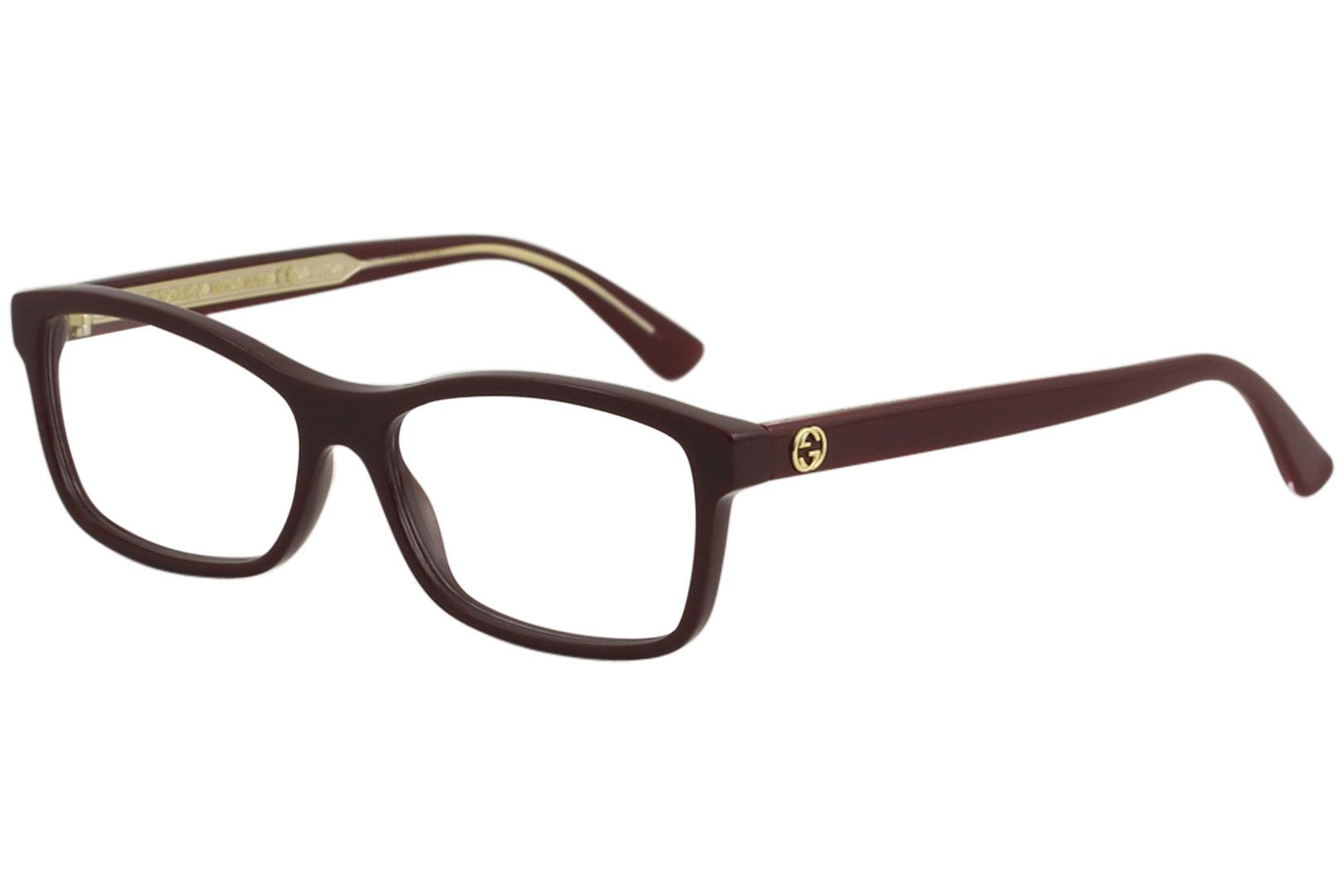 Gucci Women\'s Eyeglasses GG0316O GG/0316/O Full Rim Optical Frame