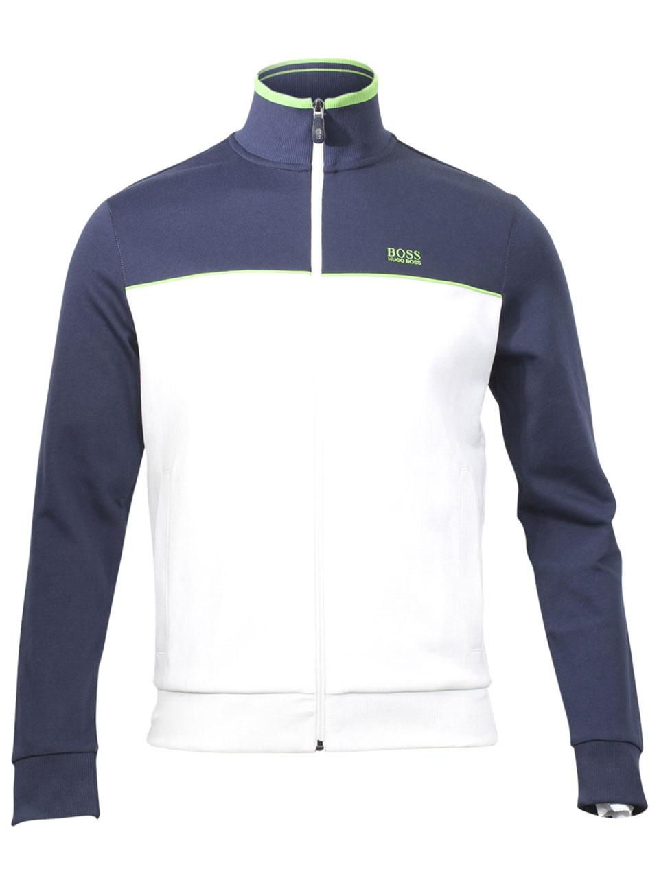 c04a255265c Hugo Boss Men s Skaz US Long Sleeve Track Jacket by Hugo Boss. 12
