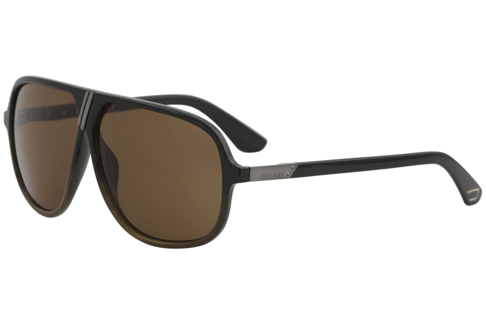 1b27e3c019 Diesel Men s DL0043 DL 0043 Retro Pilot Sunglasses