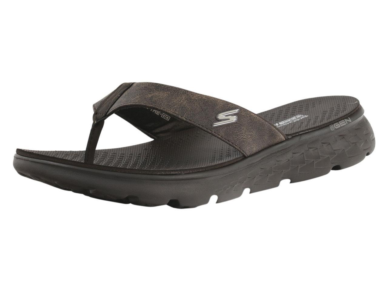 29b3e0eac9a0b4 Skechers Men s On-The-GO-400 Vista Flip Flops Sandals Shoes