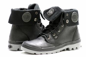 Image of Palladium Men's Boots Baggy Leather Lea Zip Fashion Shoes - none - 13