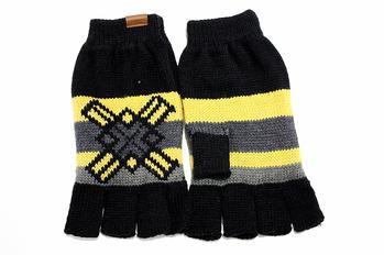 Kangol Glencoe Fairisle Fingerless Gloves