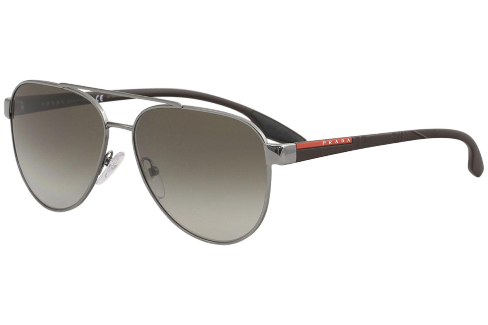 Prada Linea Rossa Men's SPS54T SPS/54T Fashion Pilot Sunglasses