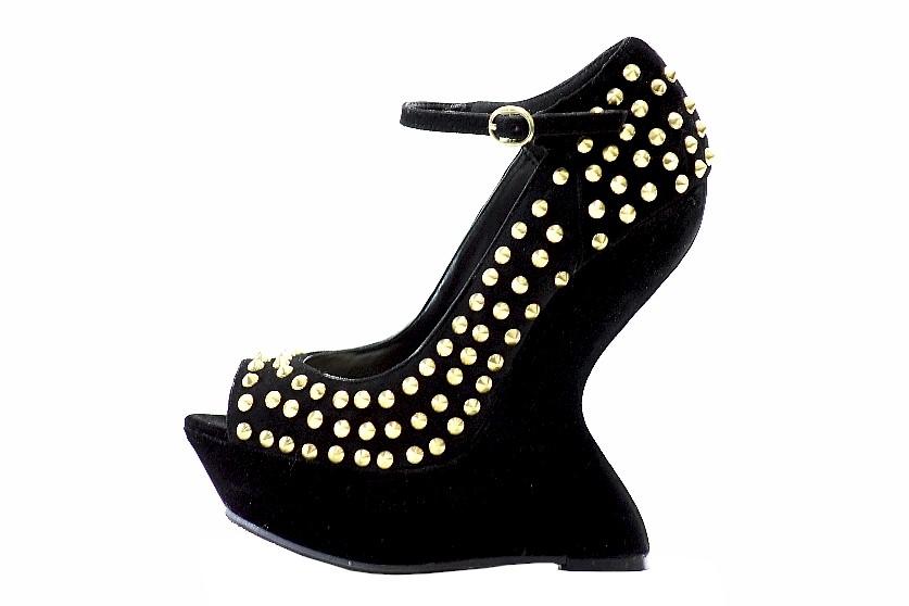 c020754d152 Steve Madden Women s Gammblee Black Multi Studded Heels Shoes by Steve  Madden. 123456