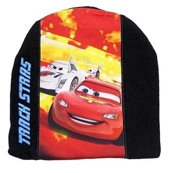 Disney Pixar's Cars 2 Boy's Track Stars Beanie Hat & Gloves Set Sz 4-7