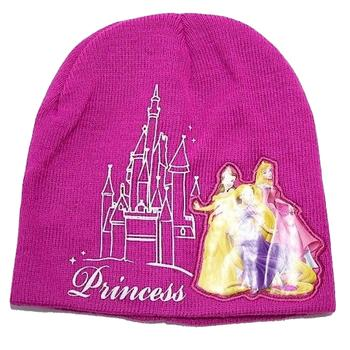 Disney Princess Girl s Ages 4 7 Beanie Hat Gloves Set