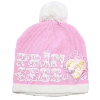 Disney Princess Girl s Ages 4 7 Princess Beanie Hat Gloves Set