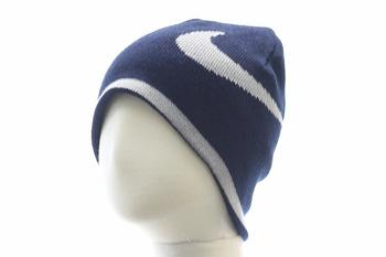 Nike Knit Big Check Boy's Reversible Beanie Hat