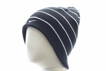 Nike Boy's Stripe Beanie Hat