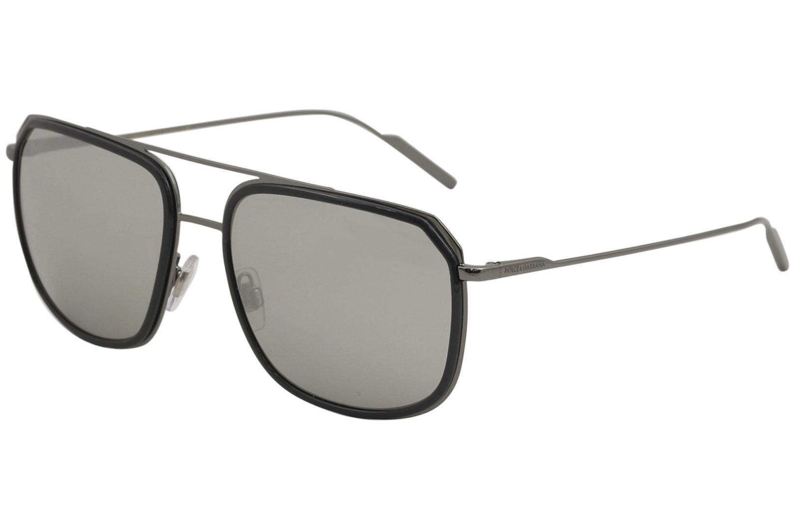 3233ff54c7 Dolce   Gabbana D G DG2165 DG 2165 04 6G Grey Gunmetal Pilot ...