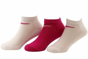Nike Little Girl's 3-Pair Assorted Low Cut Performance Socks