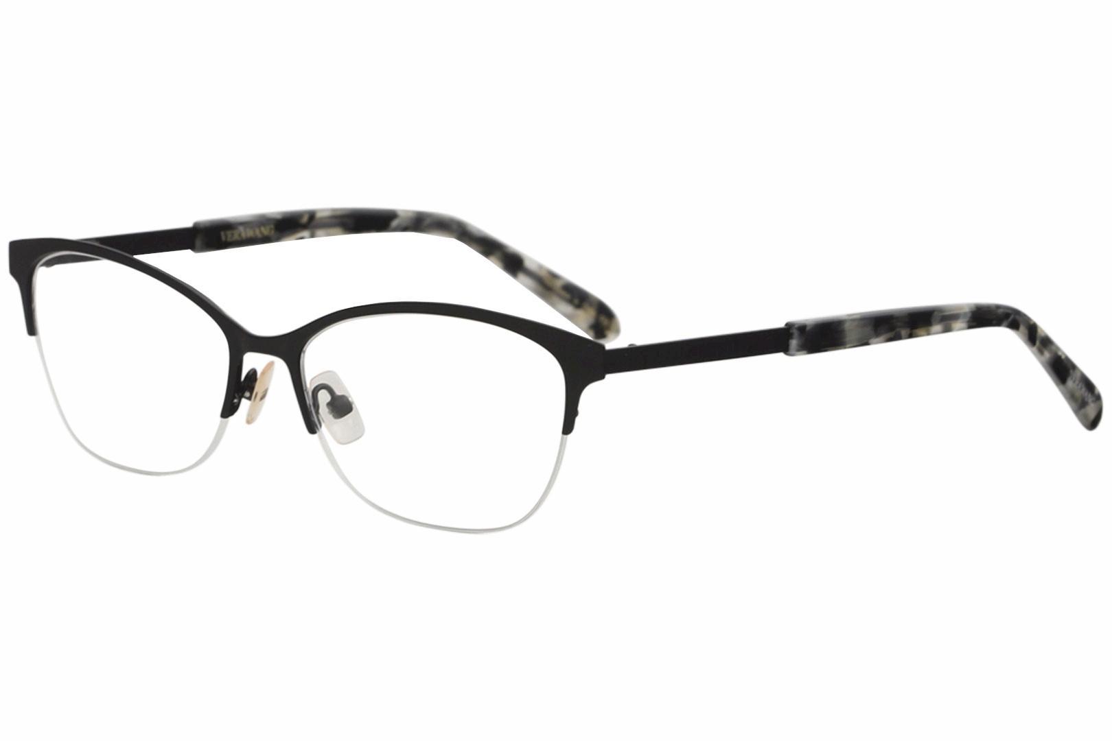 9b171467b2 Vera Wang Women s Eyeglasses V511 V 511 Half Rim Optical Frame