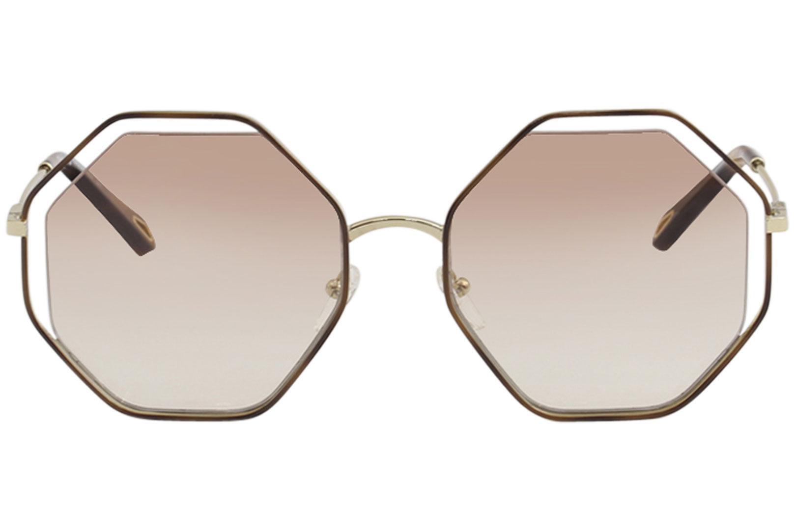 adfc389dce23 Chloe Women s CE132S CE 132 S Fashion Round Sunglasses by Chloe. 12345