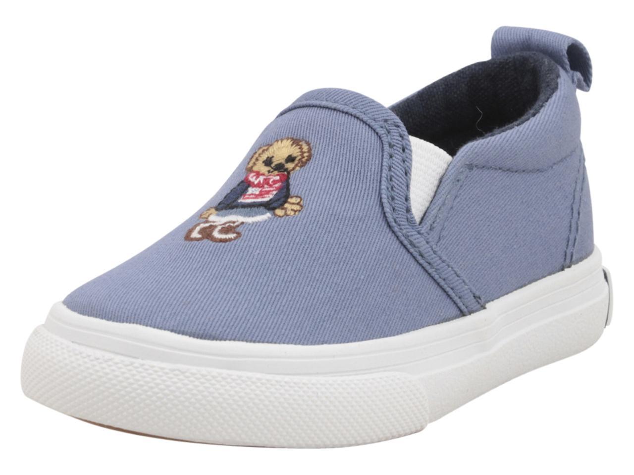 978ca3652ed Polo Ralph Lauren Toddler Little Girl s Carlee Bear Sneakers Shoes