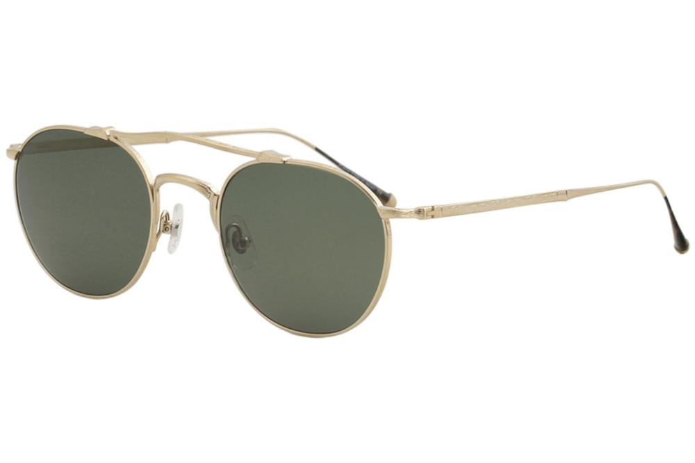 5910700dd0 Matsuda Men s M3046 M 3046 BG Brushed Gold Fashion Pilot Sunglasses ...