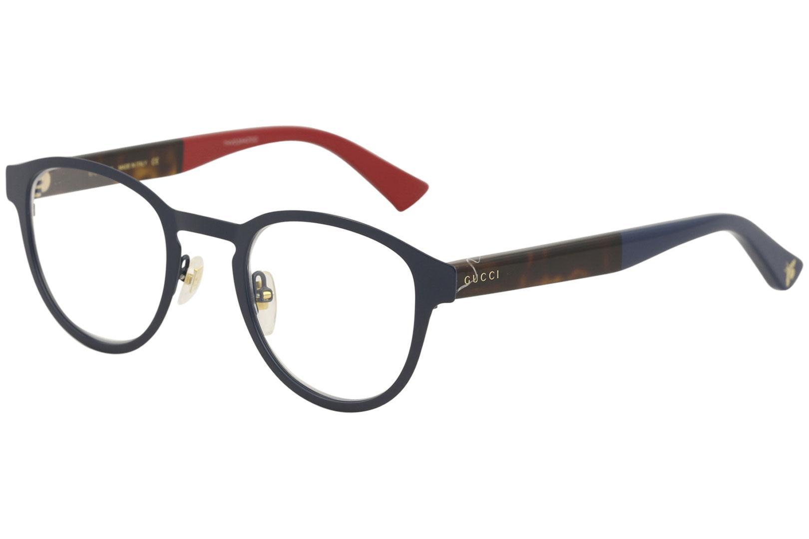 Gucci Men\'s Eyeglasses GG0161O GG/0161/O Full Rim Optical Frame
