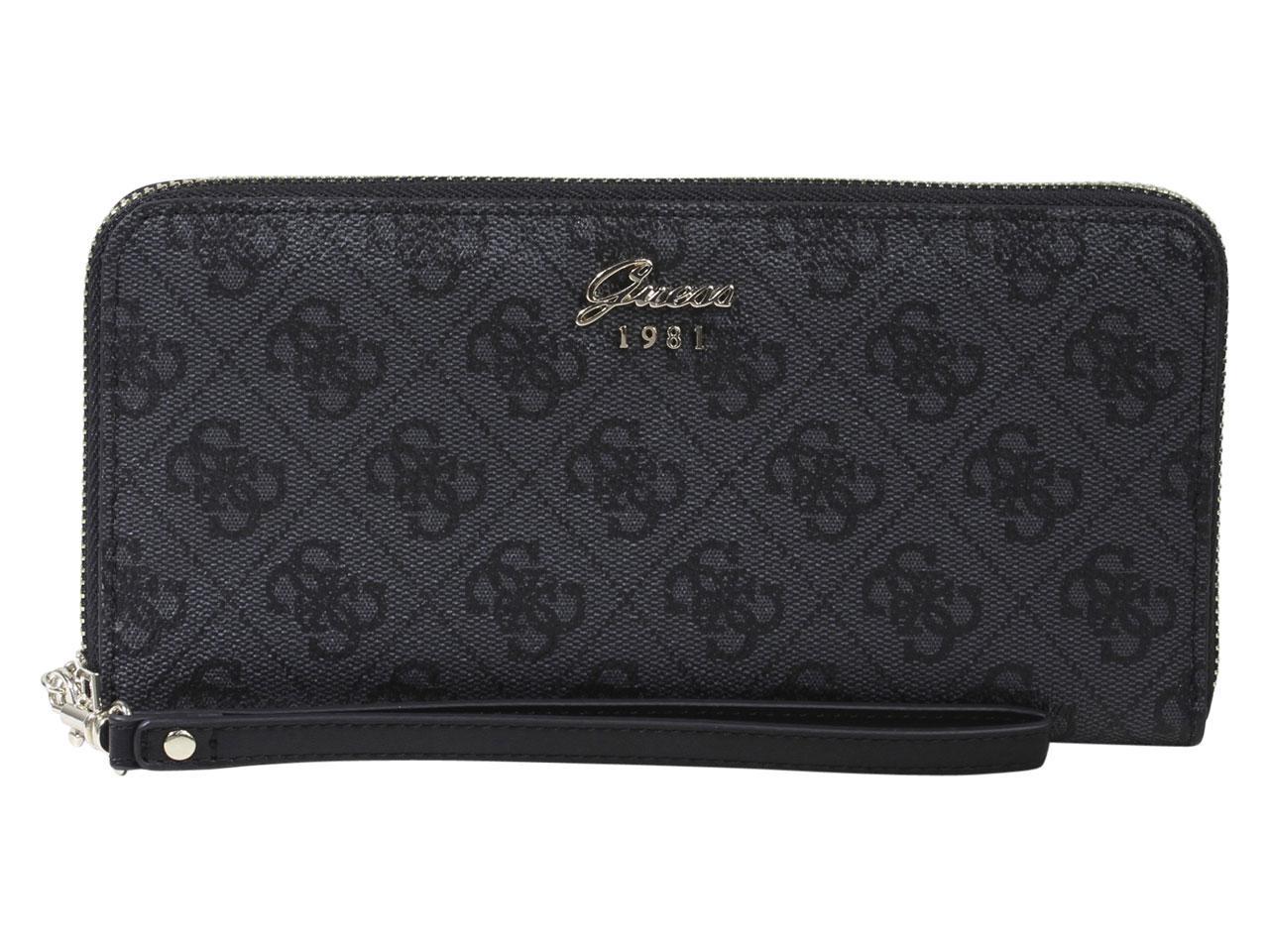 Guess Women's Jacqui Large Zip-Around Clutch Wallet