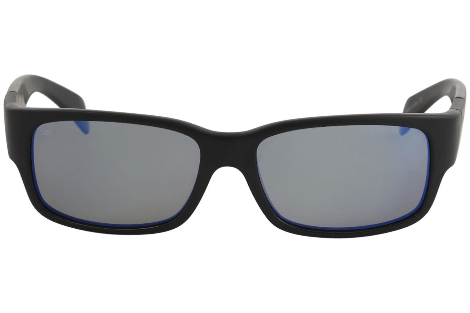 a4b3c11591 Serengeti Men s Merano Fashion Rectangle Polarized Sunglasses by Serengeti.  12345