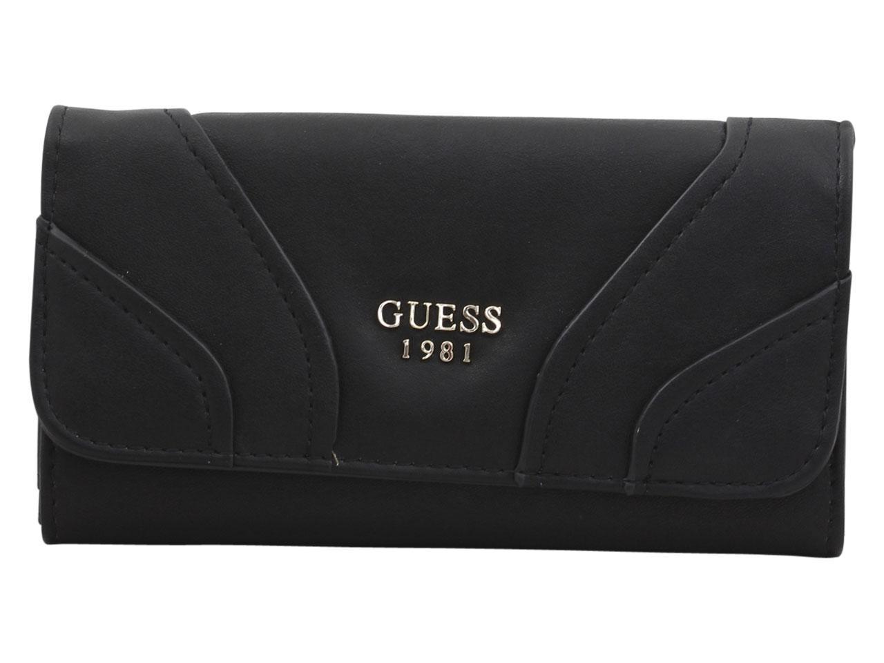 Guess Women's Islington Slim Tri-Fold Clutch Wallet
